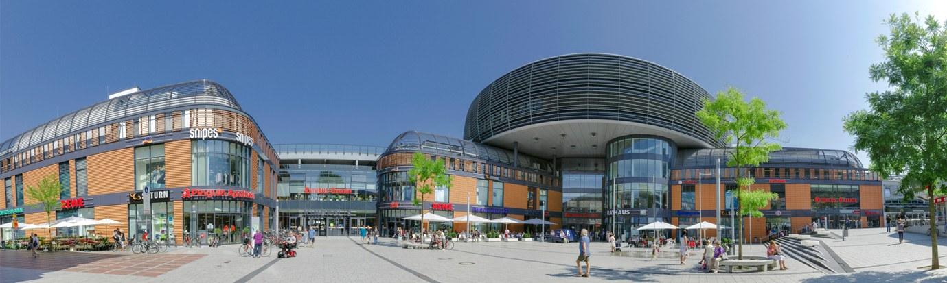 City Leverkusen Panorama Rathaus-Galerie