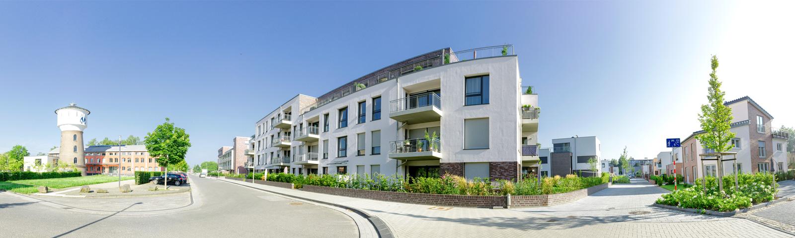 neue bahnstadt opladen Wohngebäude