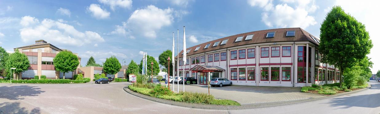Schusterinsel Leverkusen Bürogebäude