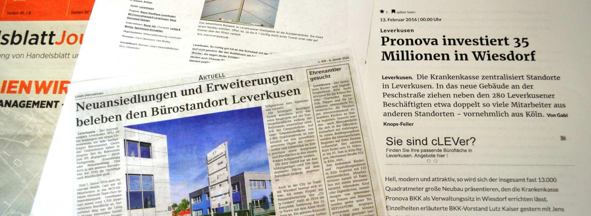 Presse Standort Leverkusen